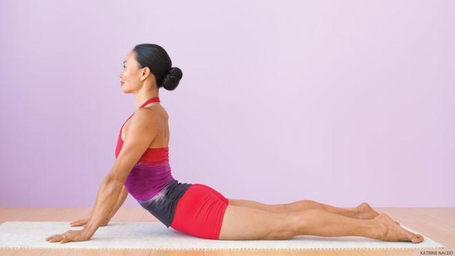 Stretch Safely Using Strength in Bhujangasana (Cobra Pose)