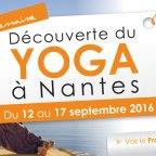 Semaine découverte du Yoga à Nantes