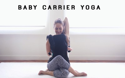BABY CARRIER YOGA