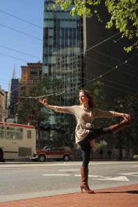 Rosalyn Fay | San Francisco | yoga pose