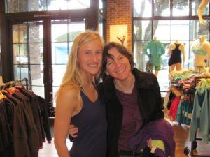 Athleta, Brian Castellani, FitSugar Director, Hanna Web Yoga Teacher Designer