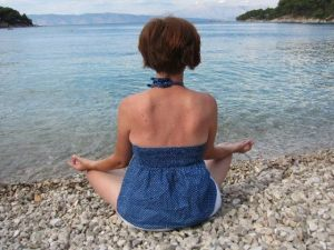 Meditation at Suncokret Yoga Retreat