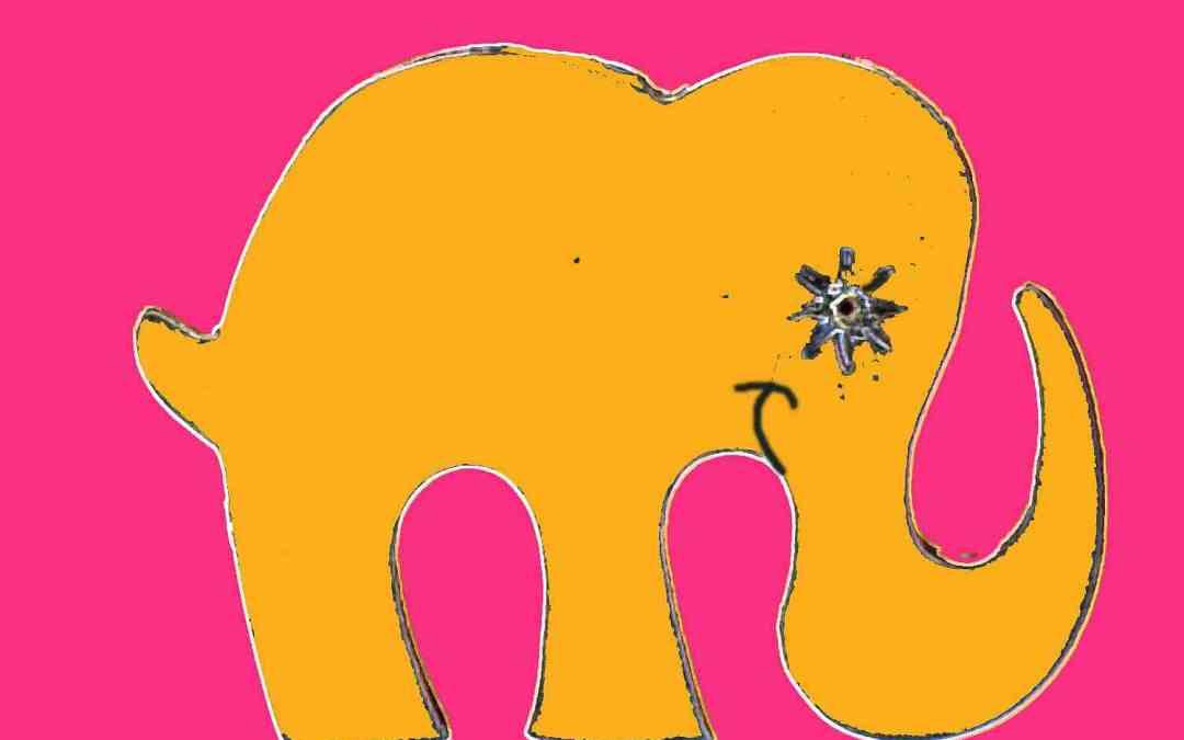 Smiling Elephant, Happy Elephant