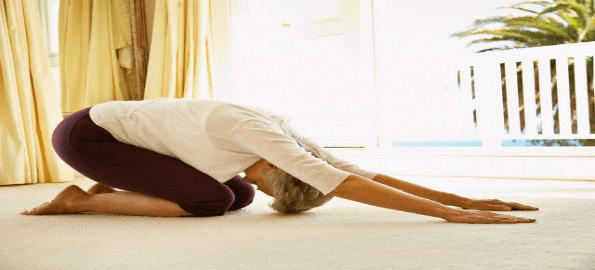 Partner yoga after 65