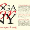 YogaforNewYork   Yoga4NY   YogaforNY   Yoganomics