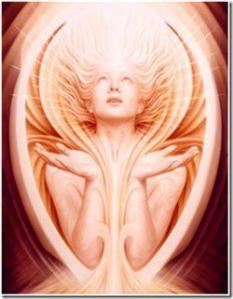 energy heavenly woman
