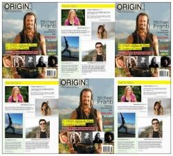 Origin Septmeber mag article 2012 Brian Castellani, IndieYoga, Yogisbe, Yoganomics