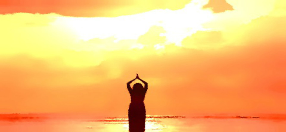 Sun Painting Diffused | Explore the World of Independent Yoga with Yoganomics®