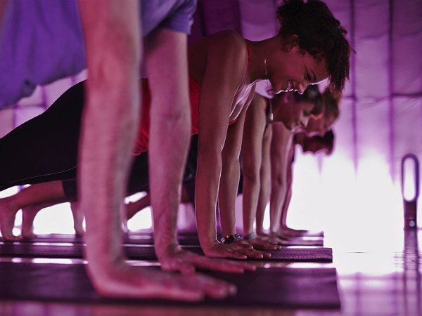 Yoga Teachers at YogaFest in Amsterdam