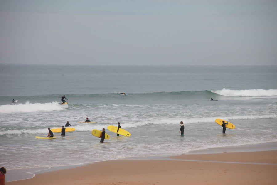 Yoga und Surfen El Palmar Spanien