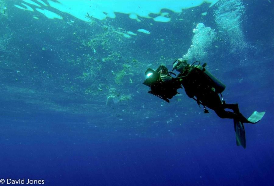 A Plastic Ocean, Filming Plastic