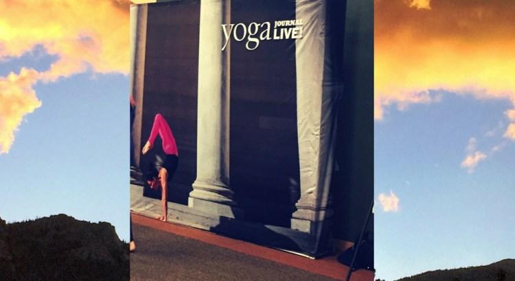 Yoga Journal Live! 2016 Estes Park Colorado