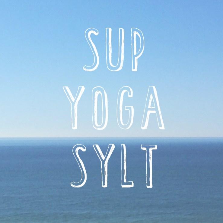 SUP Yoga Sylt mit Tina Molsen