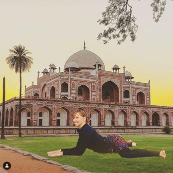 yoga en inde
