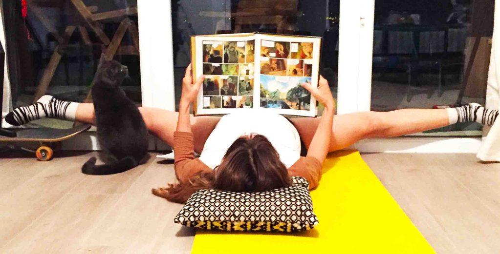 étirement de yoga quotidien