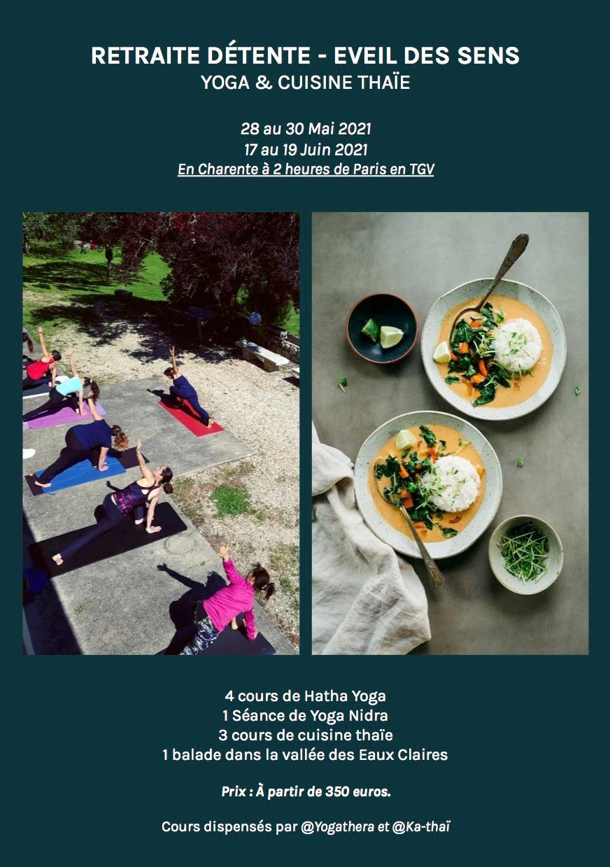 Retraite yoga-Thaïe
