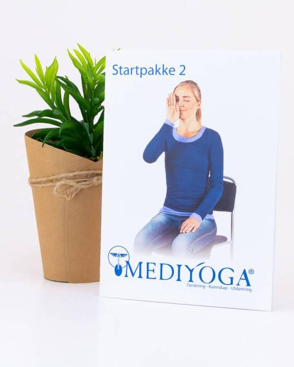 Startpakke nr 2 - Kom i gang med yoga fra din egen stue