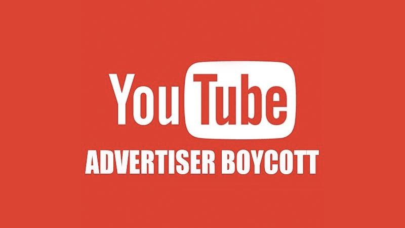 youtube advertisers boycott