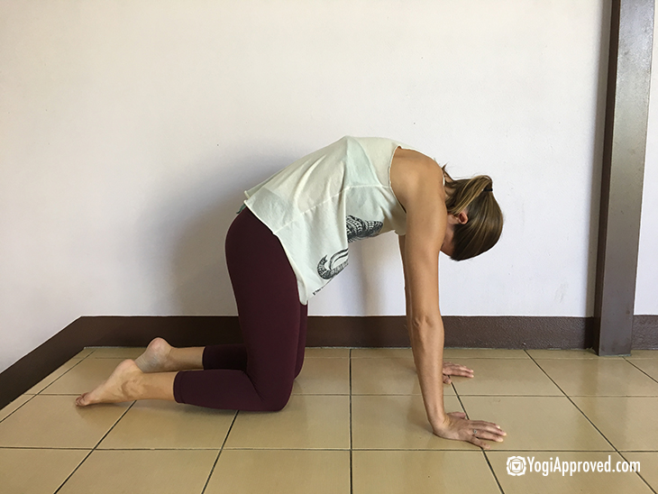 Yoga Crow Pose Prep | Workoutwaper.co