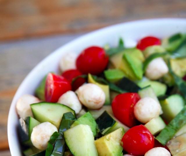 avocado cucumber salad recipe