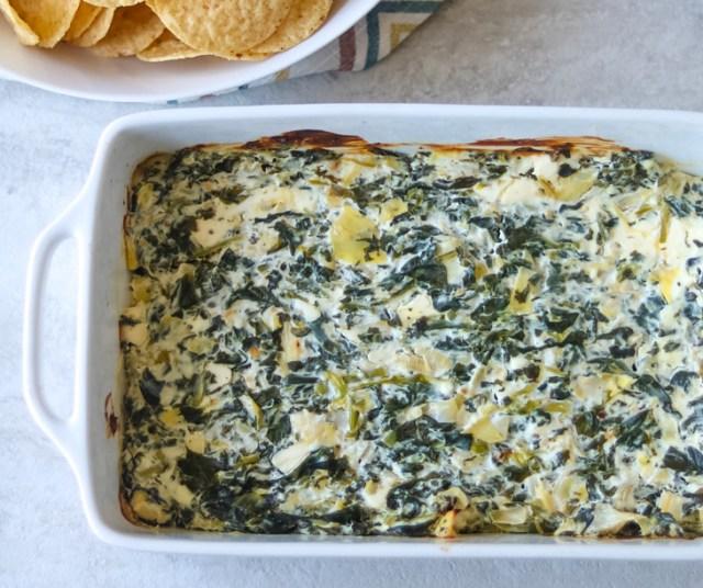 skinny spinach artichoke dip recipe