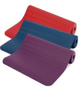 tapis de yoga latex eco luxe 6mm kheor paris