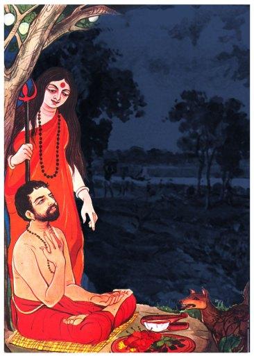 07 Bhairavi trained Sri Ramakrishna in the 64 Tantric Kriyas