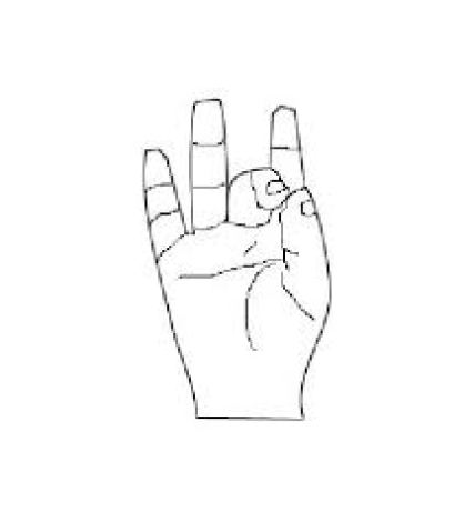 Akasha Mudra - The mystic symbol of the Either; Space