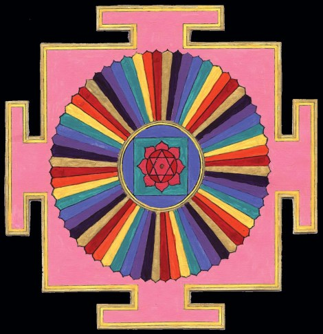 Yantra Yoga includes the 64 Yogini Yantra