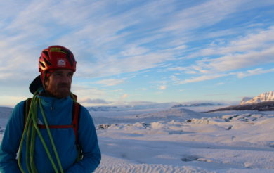 Jon Andresson, expert explorer in Iceland