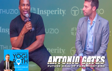 Antonio Gates on Yogi Roth Show