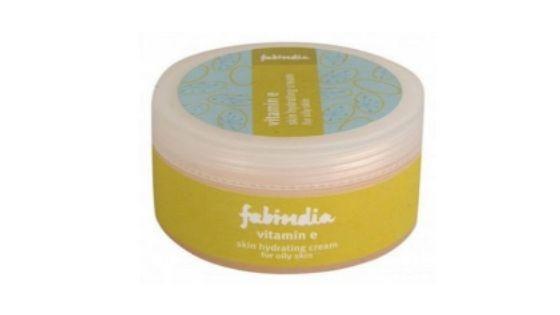 FabIndia Vitamin E skin hydrating cream for oily skin - Top 10 Best Moisturizer for Oily Skin in India