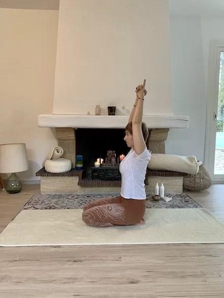 tapis de yoga natural