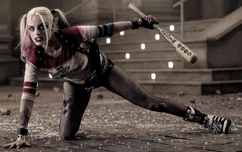 Margo Robbie is Harley Quinn