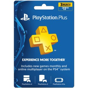 Playstation Plus Card - 3 months