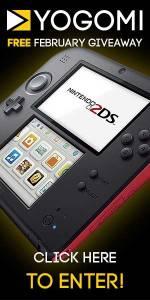 Yogomi February Giveaway - Nintendo 2DS