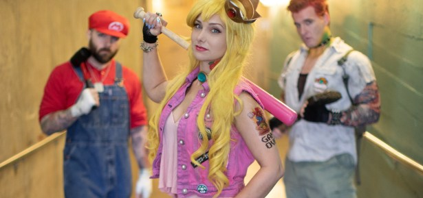 Cosplay Photo Shoot - Punk Rock Mario
