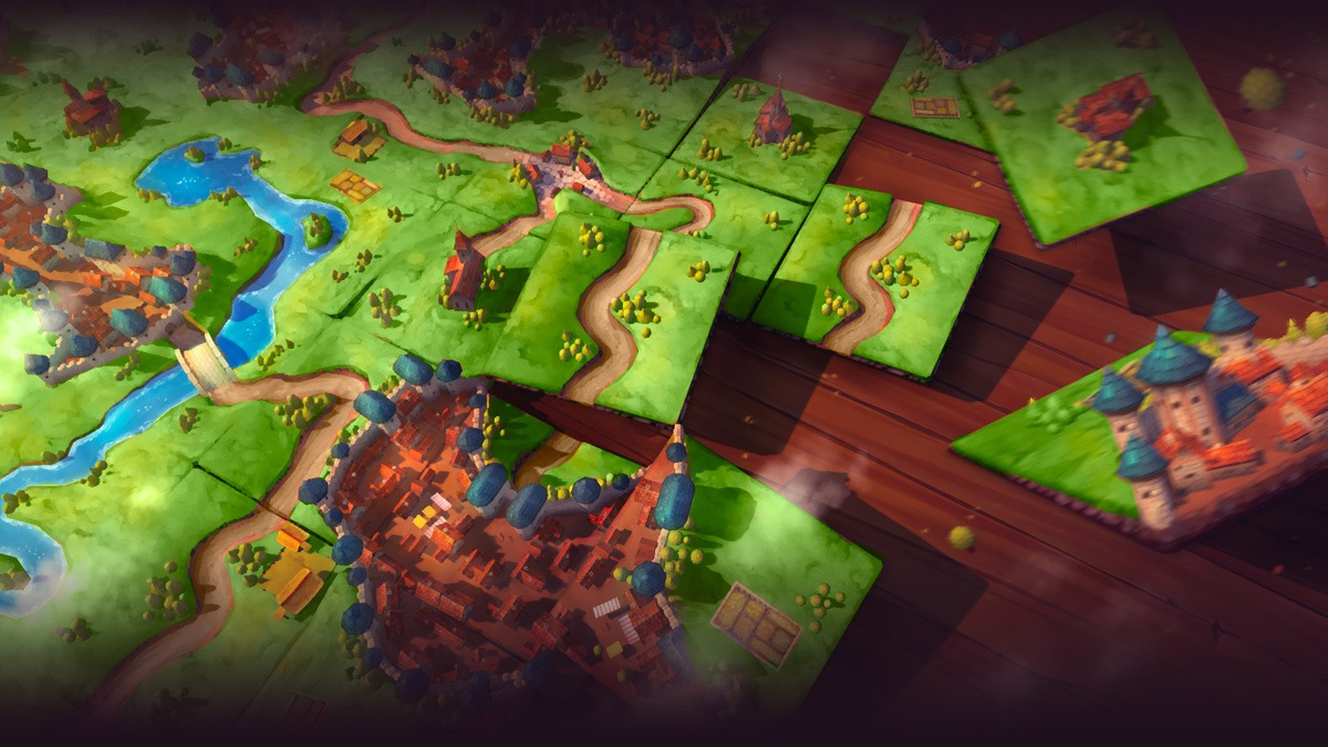 Carcassonne gameplay image