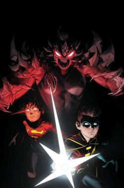 Adventures of the Super Sons comic book cover