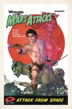 Warlord of Mars Attacks cover 1