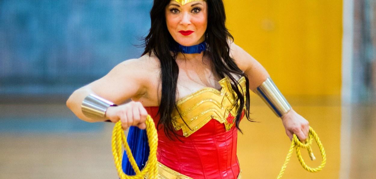 DFW Wonder Woman cosplayer