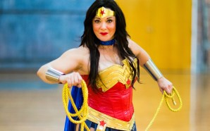 DFW Wonder Woman cosplayer