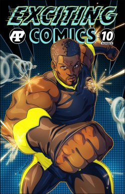 Exciting Comics 10 cover