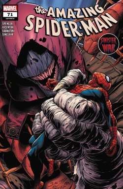 The Amazing Spider-Man #72 comic book cover