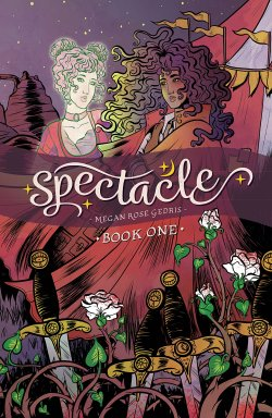 Spectacle comic bok cover