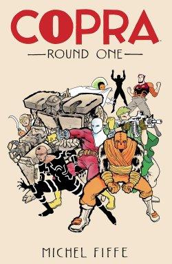 Copra comic book cover