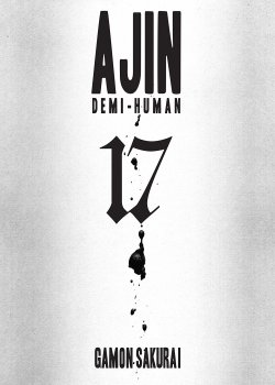 Ajin Demi-Human comic book cover