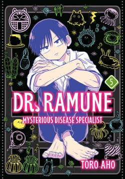 Dr. Ramune -Mysterious Disease Specialist- Vol. 5 manga cover