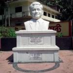 Statue of Manabendra Narayan Larma in Khagrachari Town