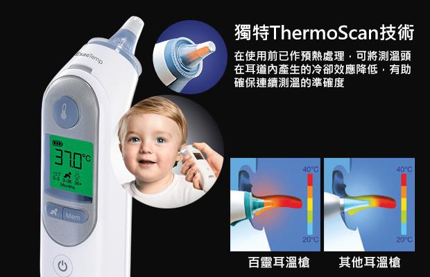 百靈 Braun ThermoScan 7 IRT 6520 紅外線嬰兒兒童耳溫槍 白色 - 溫度計 - 保健 - 美容及護理 - 友和 YOHO - 網購電器及 ...